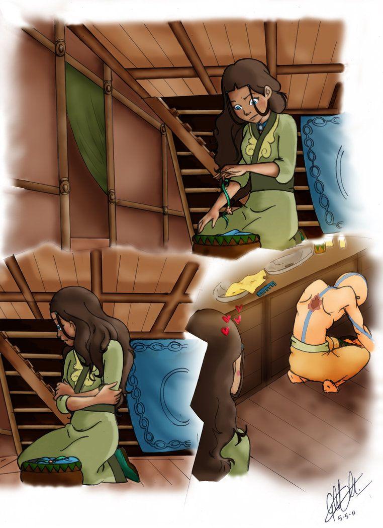 Аанг и катара комиксы