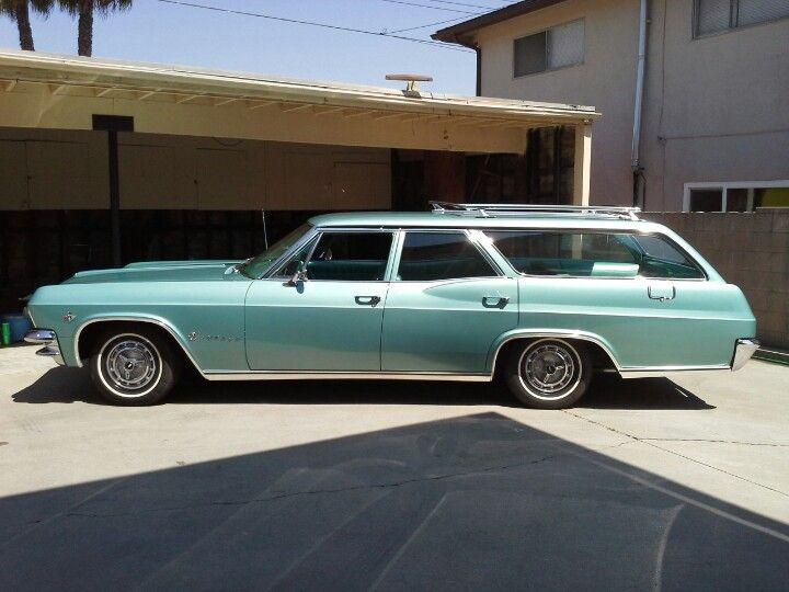 1965 Chevrolet Impala Station Wagon Station Wagon Classic Cars Chevrolet