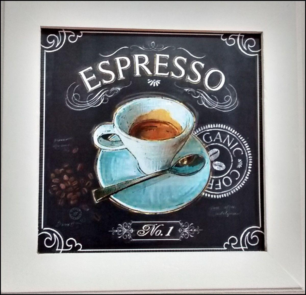 Trio De Quadros Cozinha My Coffee