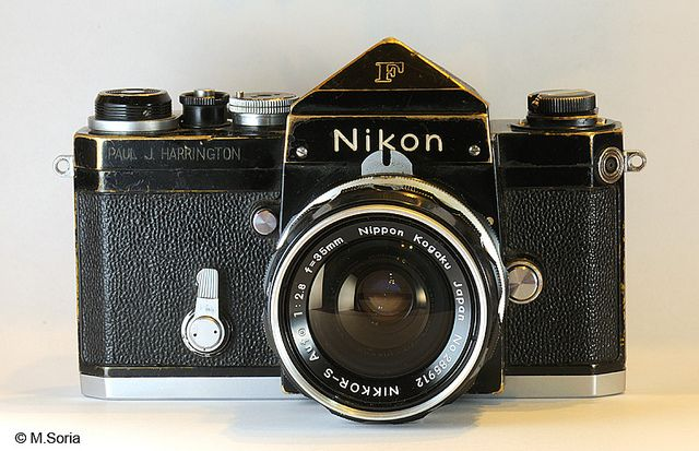 Nikon F used in Vietnam War | Vintage Cameras | Nikon, Camera