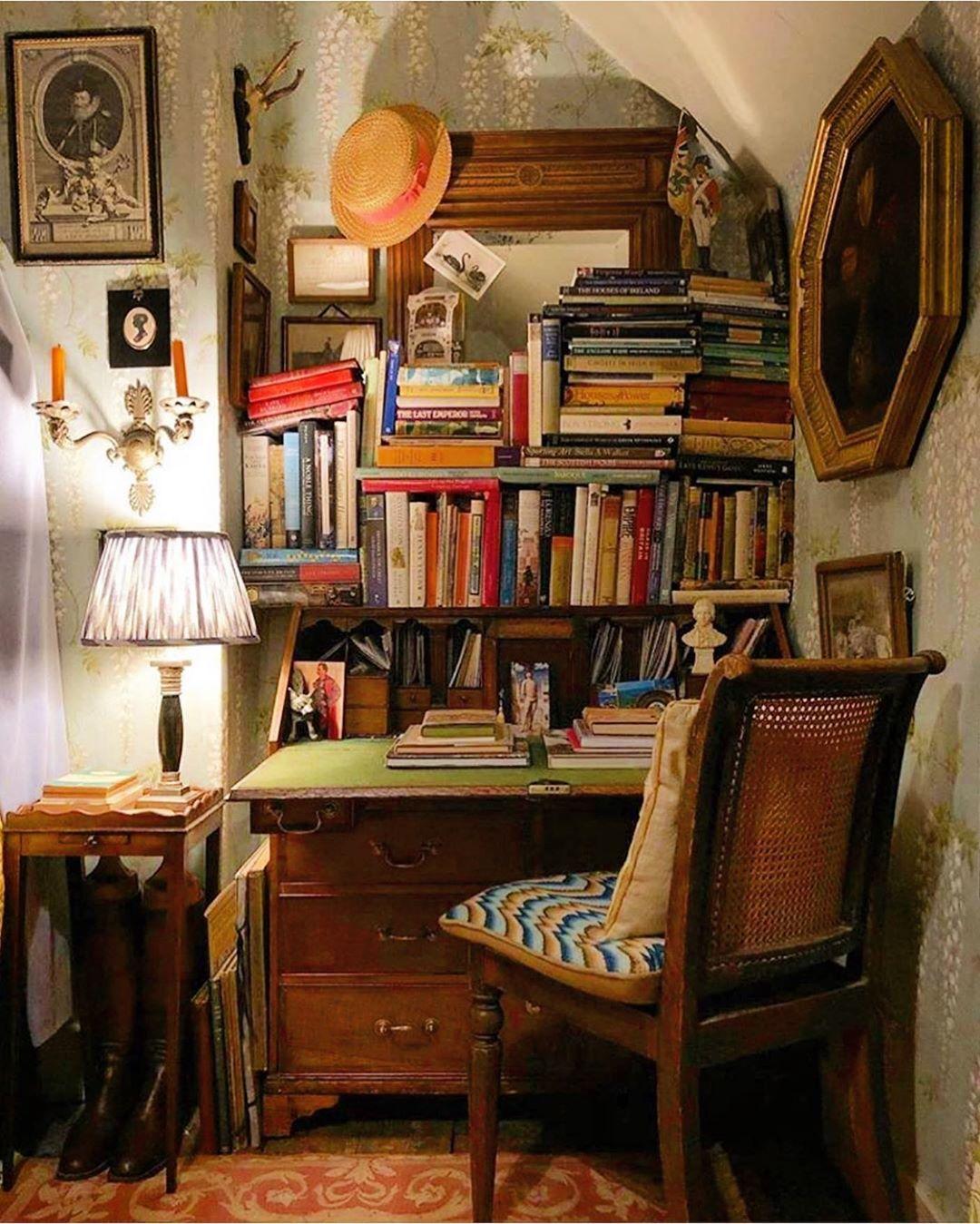 Cozy Homeoffice Decor: Scheffer Interiors&ObjetsD'art On Instagram: Home Office
