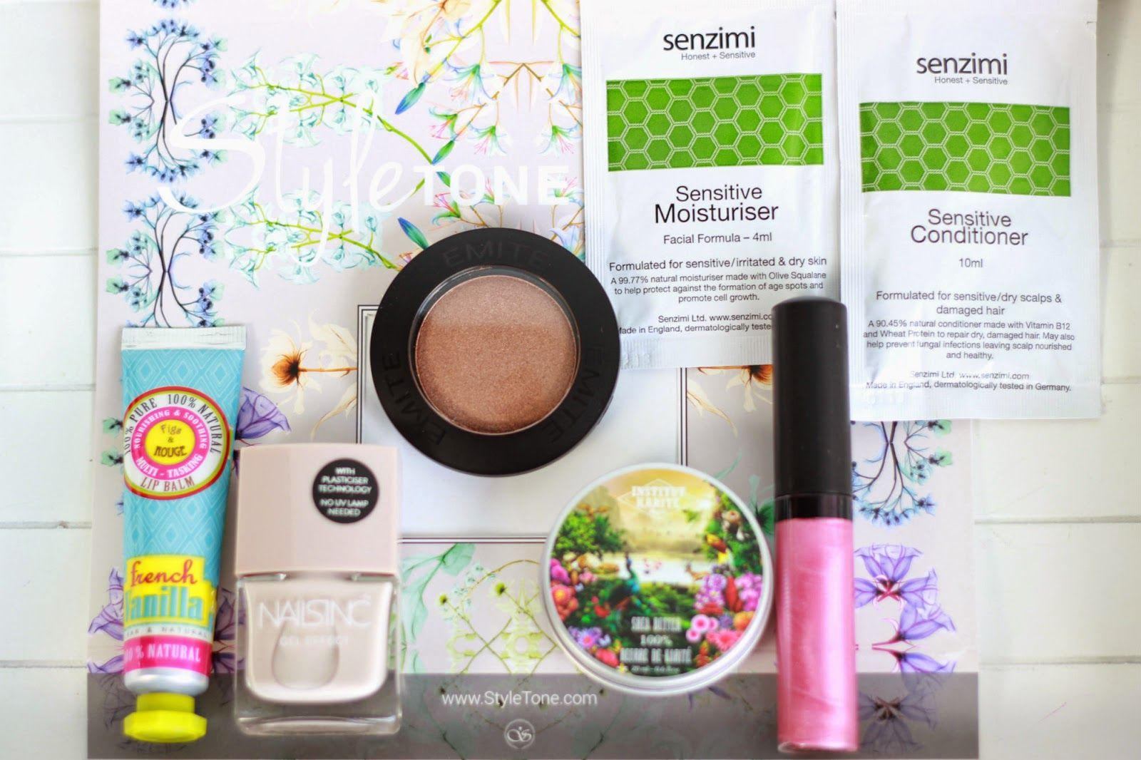Sprinkles on a cupcake: Styletone Beautybox Maart 2015
