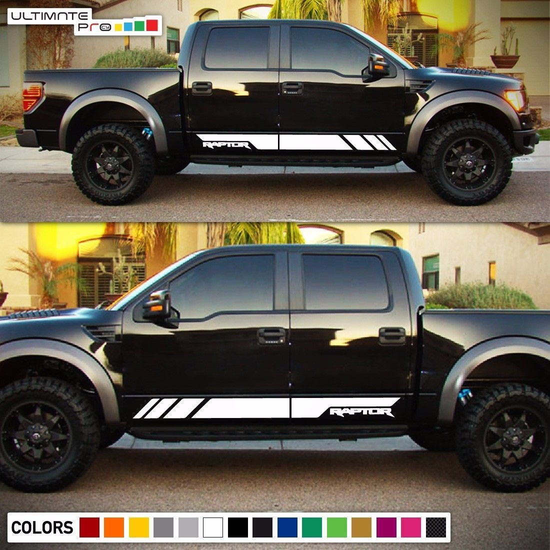 Decal Sticker Vinyl Side Stripes For Ford F 150 Raptor Svt Tail Light Led Grill Ford F150 Vinyl Siding Lifted Ford Truck