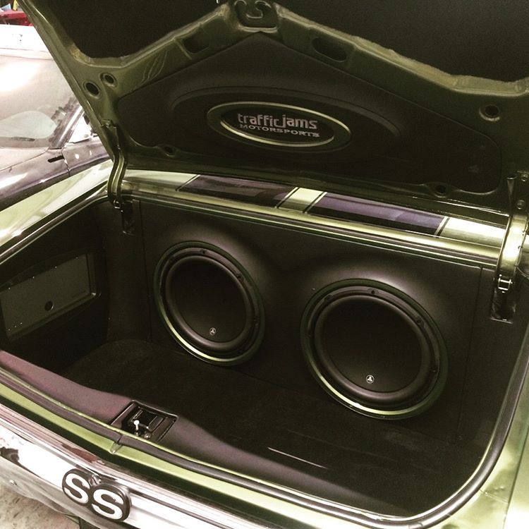 Old School Car Stereo Motorized Stealth Install - YouTube  Old School Car Audio Installs
