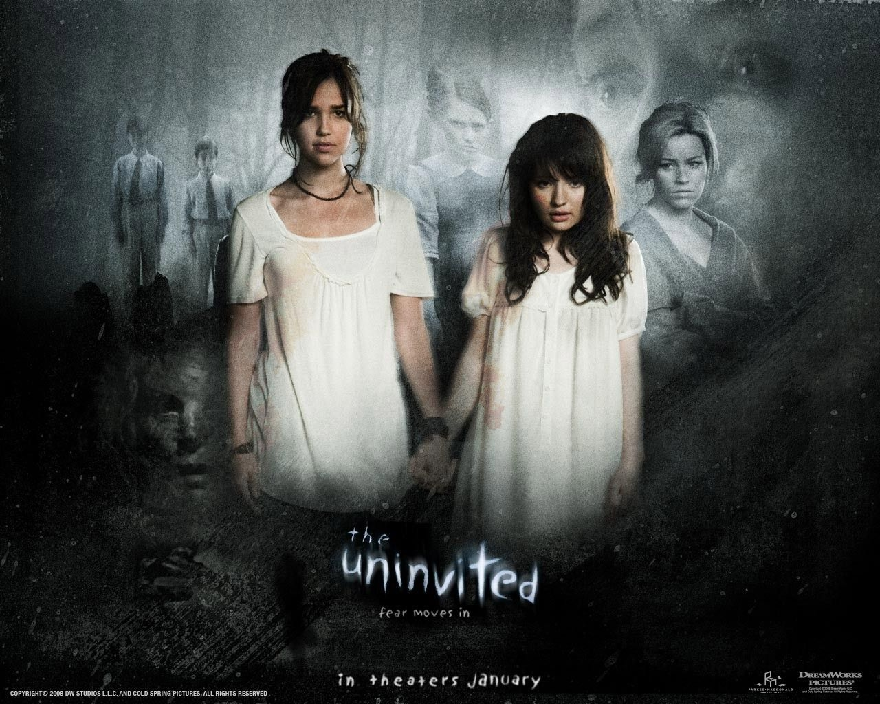 """Arielle Kebbel and Emily Browning in """"The Uninvited"""" (2009"""