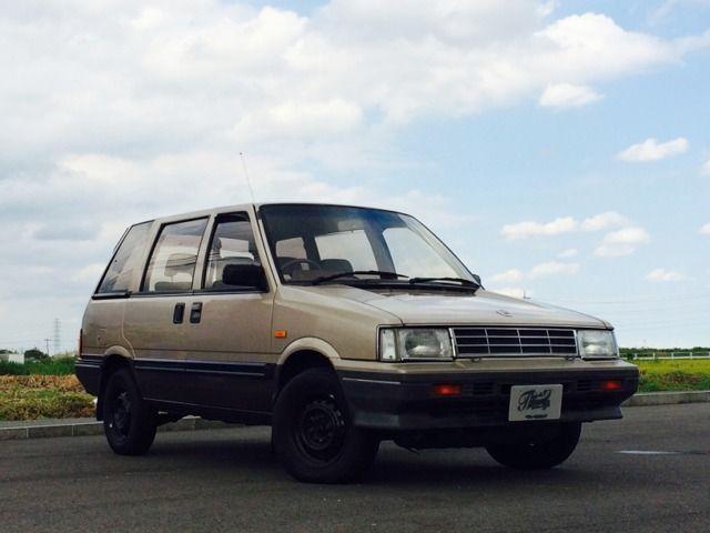 S.62(1987)年 日産 プレーリー 4WD (ツートンブラウン)