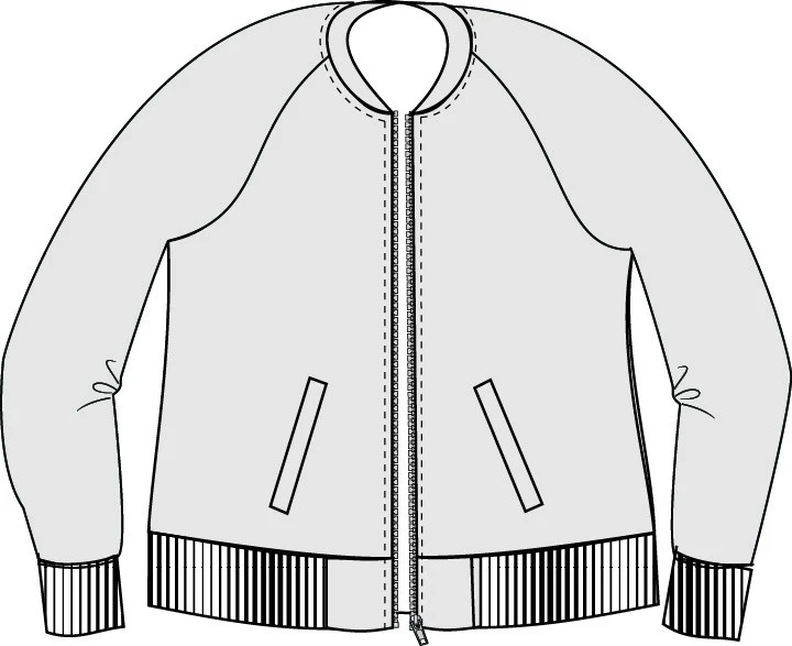 Midway Bomber Jacket Pdf Sewing Pattern Xxs To 3xl In 2021 Patterned Bomber Jacket Sewing Clothes Women Jacket Pattern Sewing