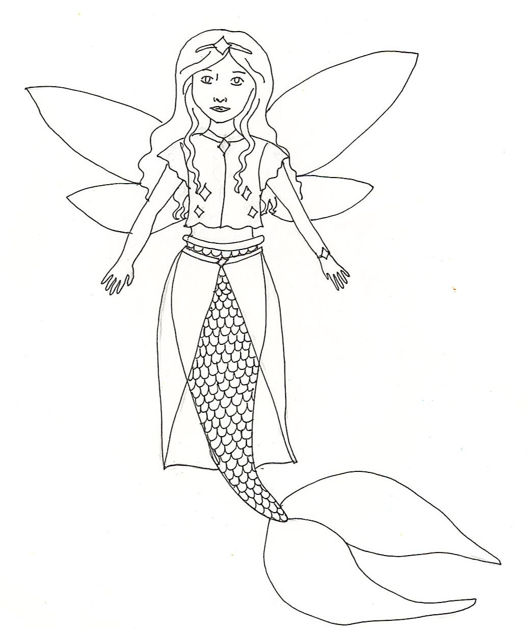 Spectacular Mermaid Coloring Pages Online