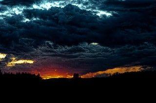 the sky is falling in darkeness