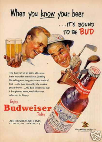 old budweiser ads -