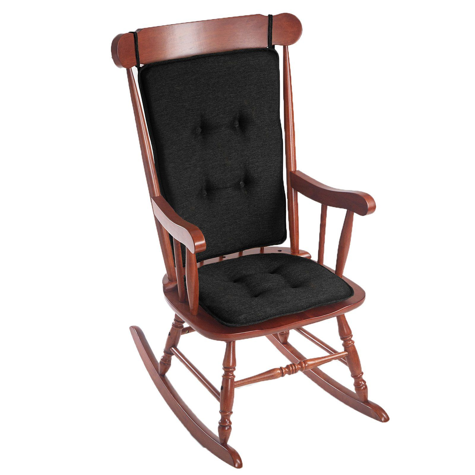 Klear Vu Gripper Embrace Low Profile 2 Piece Rocking Chair Cushion