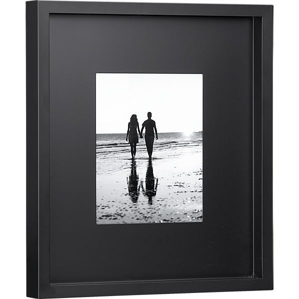 black matte 8x10 frame | CB2 2 of these | Wants | Pinterest | 8x10 ...