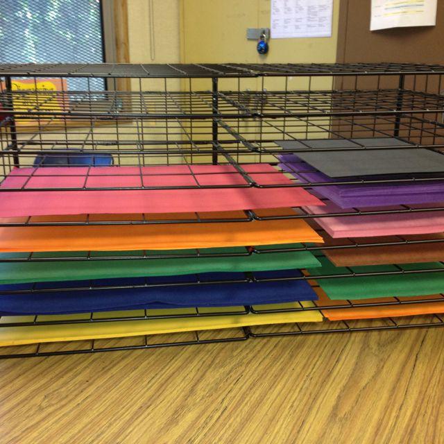 Ordinaire DIY  Construction Paper Storage Classroom Hacks, Classroom Setup, Classroom  Design, Classroom Setting