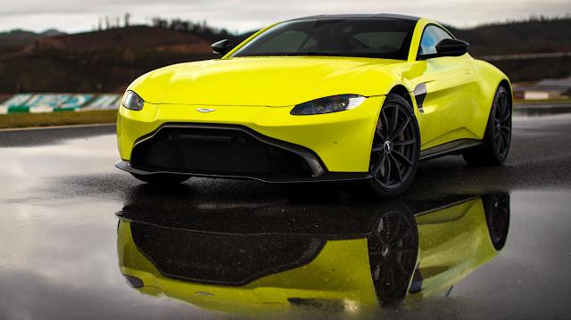New 2019 Aston Martin V8 Vantage Review Aston Martin V8 Aston Martin Cars Aston Martin