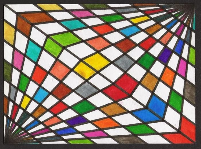 Dibujos Abstractos Faciles De Hacer Buscar Con Google Op Art