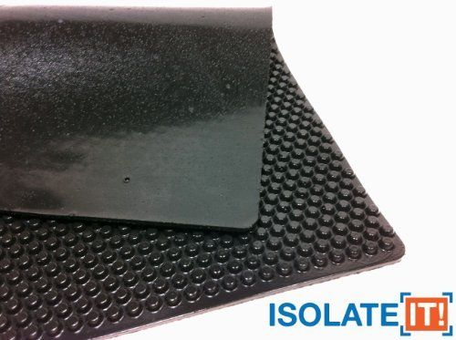 Isolate It Sorbothane X Tra Flex Acoustic Vibration Damping Sheet Stock 3 16 X 12 X 14in 40 Duro 1 Sheet Dryers For Sale Washers Game Rules Home Hardware