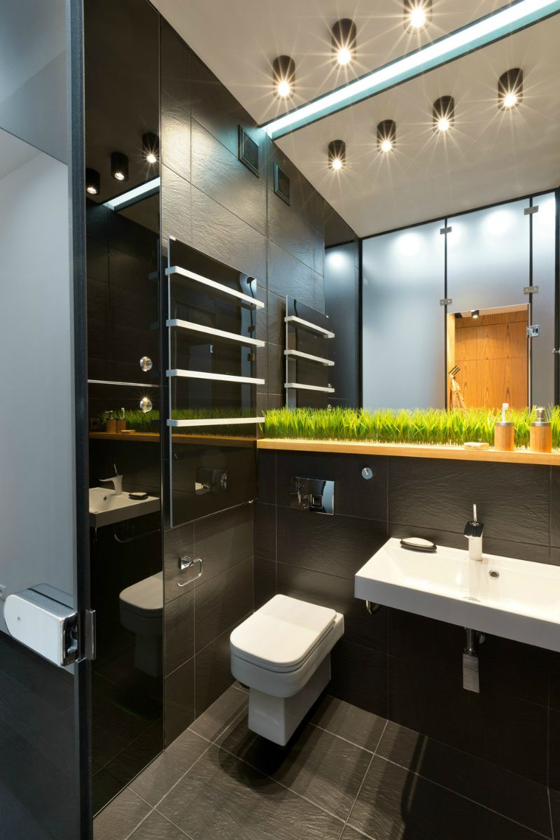 Contemporary 40 Square Meter 430 Square Feet Apartment  Square Best 40 Sq Ft Bathroom Design Decorating Inspiration