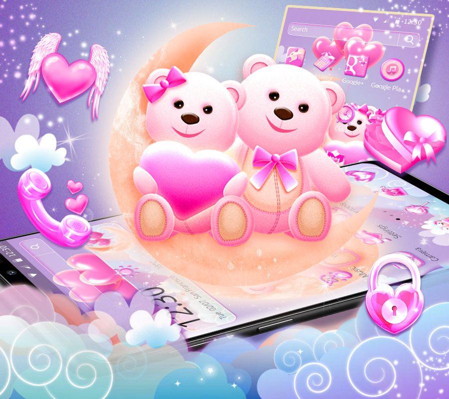 Wallpaper By Artist Unknown Cute Love Wallpapers Teddy Bear Wallpaper Valentines Wallpaper