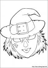 8 Halloween Masks Printable Coloring Pages For Kids Find On Book Thousands Of