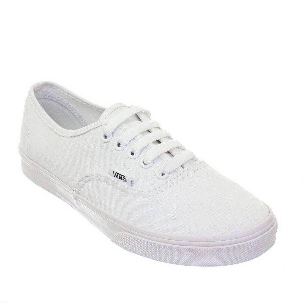 True White Authentic Lo Pros | Vans authentic lo pro, Vans ...
