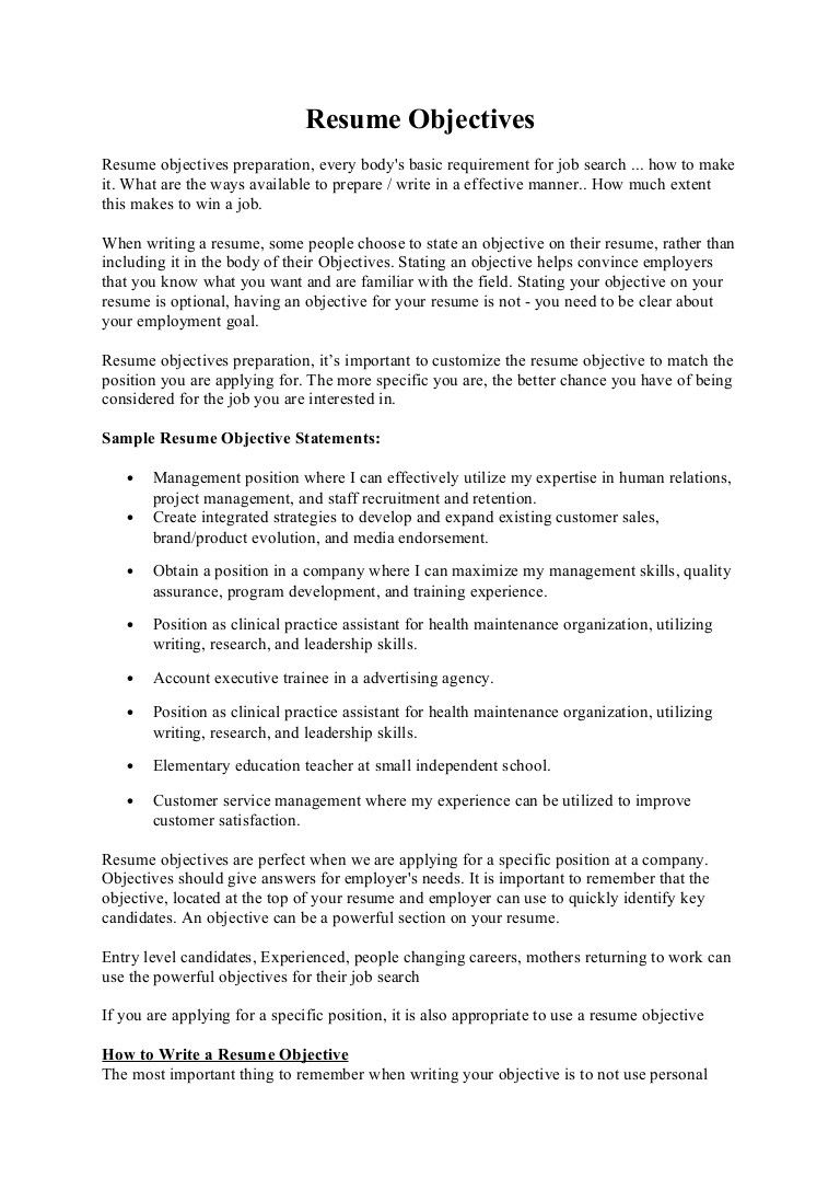 best 20 objectives for a resume check more at      sktrnhorn co  objectives