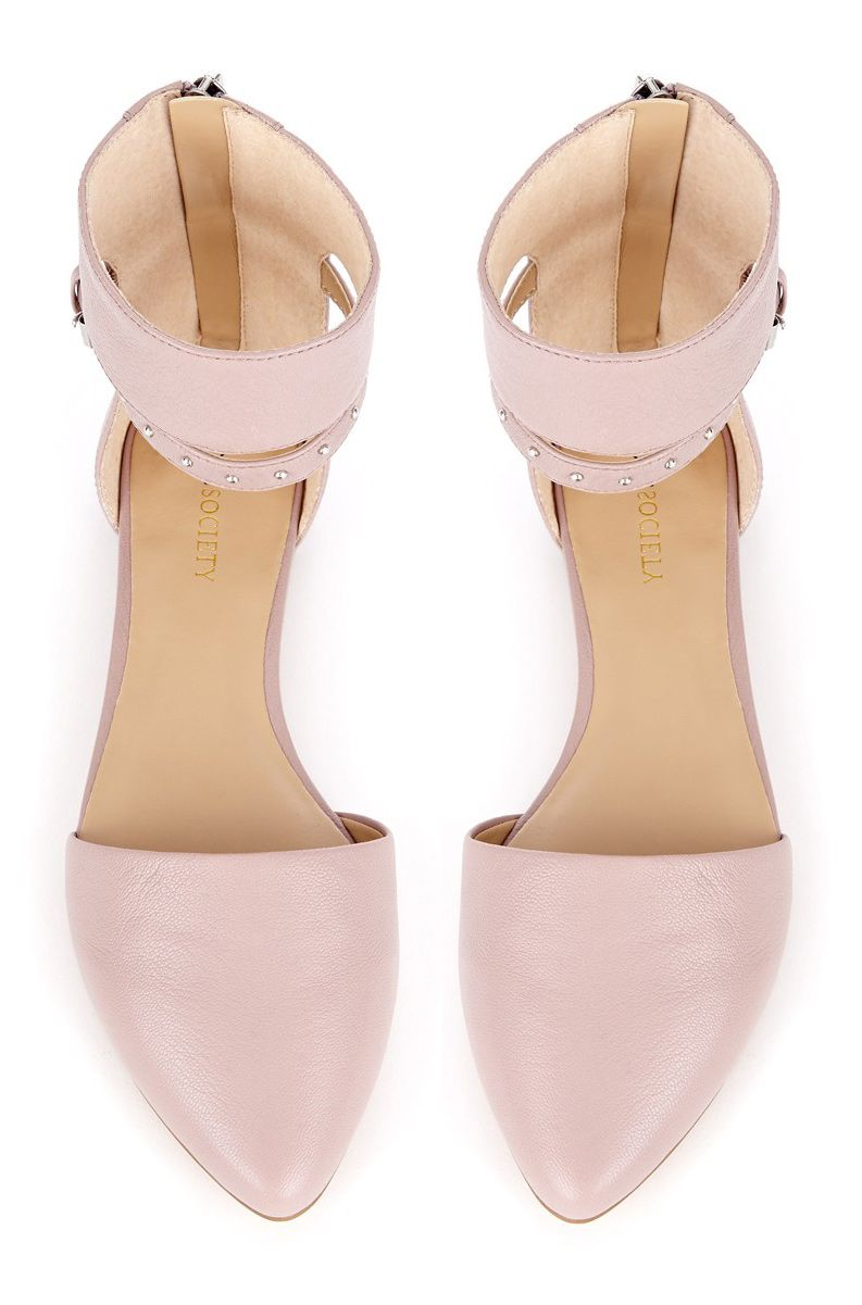 c1ccf27d552 Blush flats - this will look good if you have fair skin