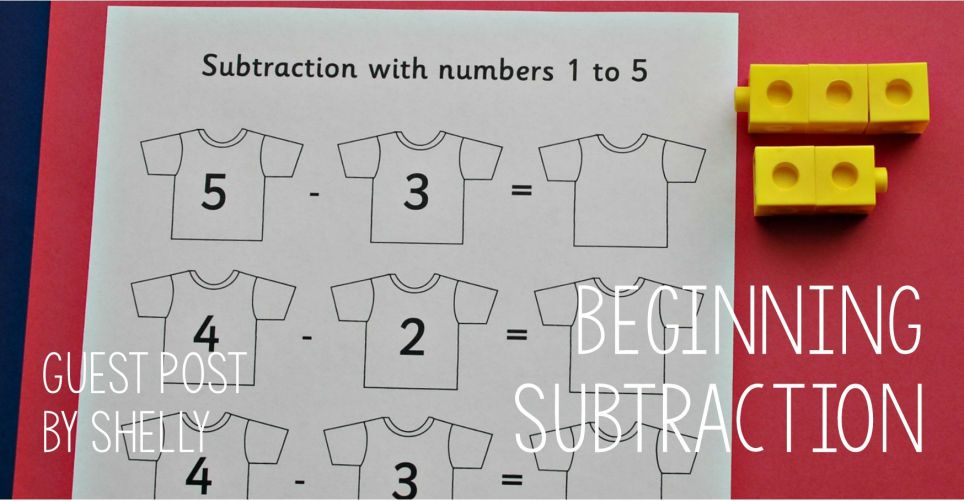 Guest Post - Beginning Subtraction using resources from the Activity ...