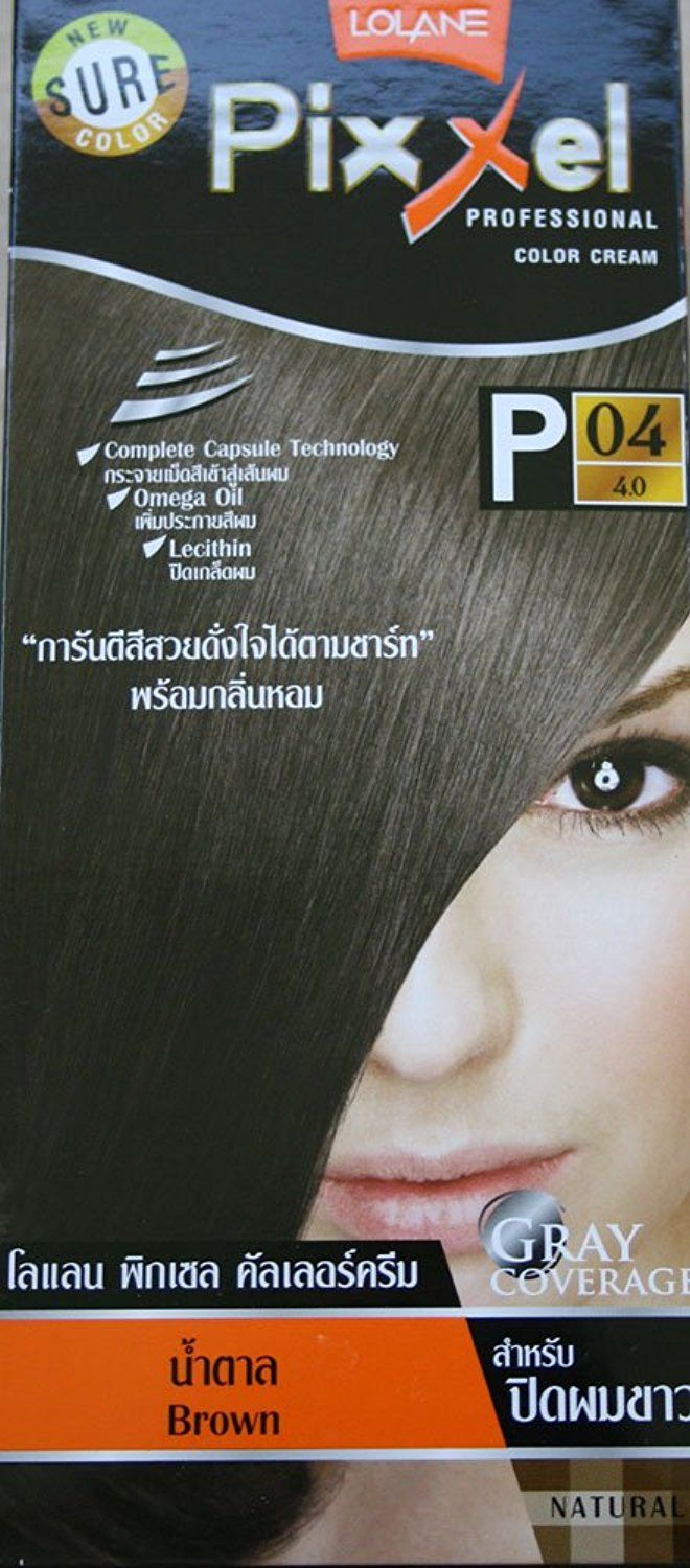 Lolane Pixxel Permanent Color Cream Hair Dye Gray Coverage Brown Color No P04 This Is An Amazon Affiliate Link Click On The Hair Cream Dyed Hair Hair Gel
