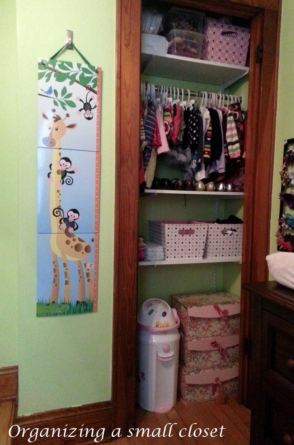 Closet Organization Ideas For Kids Part - 42: Organizing A Small Closet -- This Is A REALLY Small Closet, But There Are