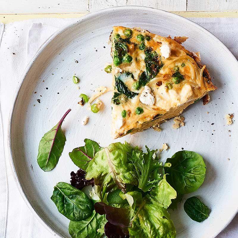 Spinach Pea Frittata Healthy Recipe Ww Uk Recipe Wraps Recipes Healthy Frittata Recipes Healthy