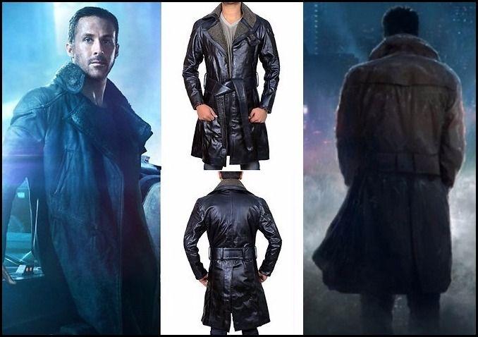 77120b29f Blade Runner 2049 Ryan Gosling Coat | Ryan Gosling Leather Jackets ...