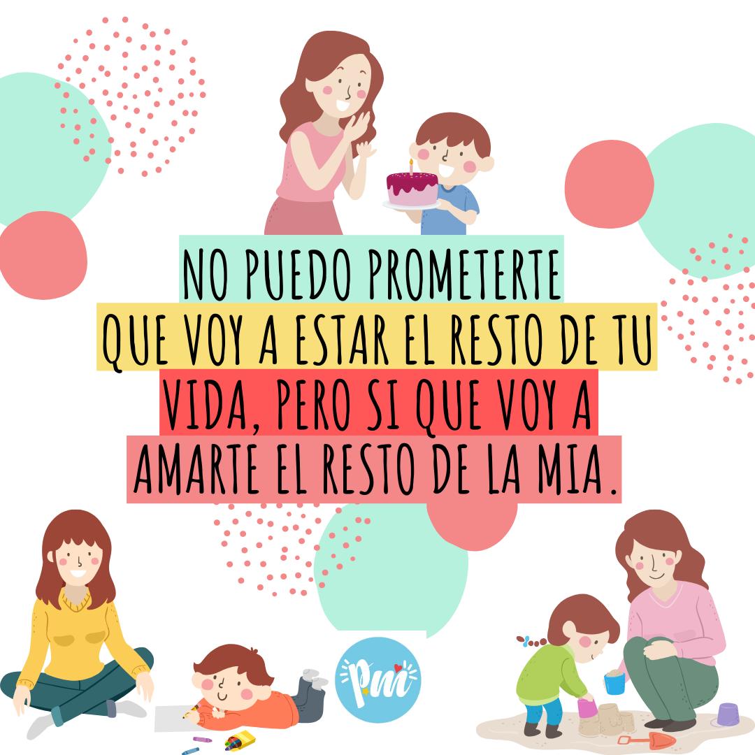 Amor Por Siempre Frases Cortas Para Mamá Frases Para Padres Feliz Día Mamá Frases