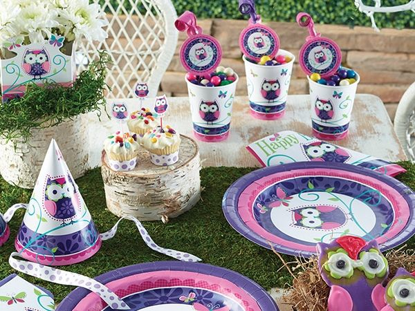 Bulk Owl Pal party supplies at Napkinscom Kids Birthday Party
