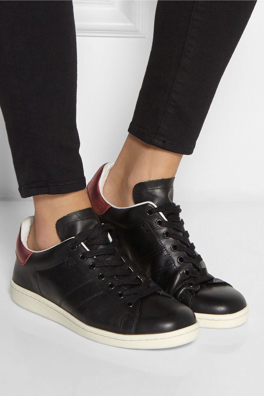 e03ccae583 Isabel Marant | Étoile Bart leather sneakers | NET-A-PORTER.COM ...