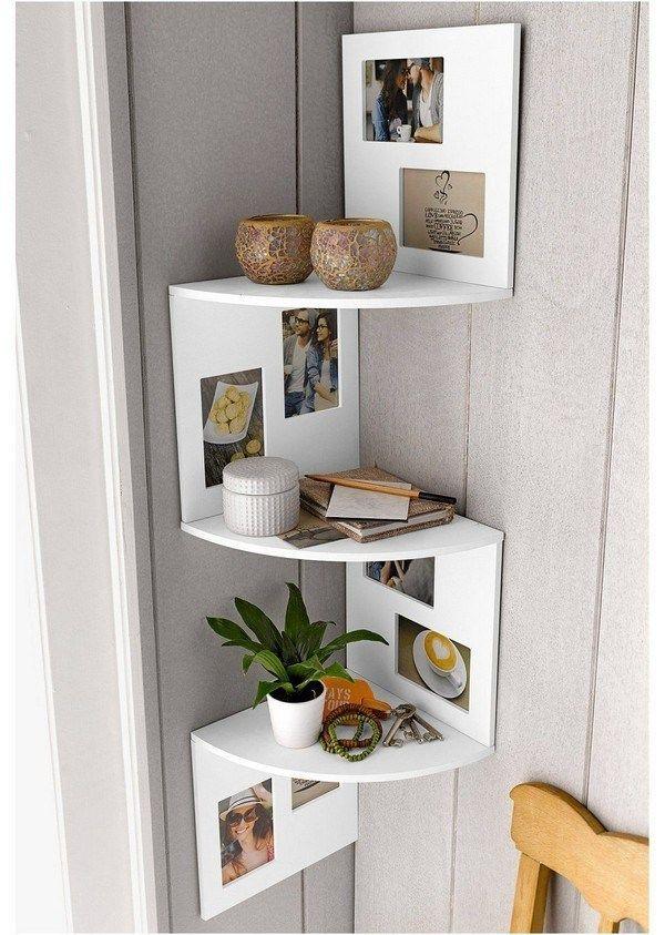 35 Amazing Corner Shelves Ideas With Images Living Room Shelves Bedroom Furniture Layout Room Shelves