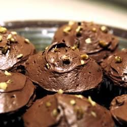 Chocolate Courgette Fairy Cakes With Chocolate Icing