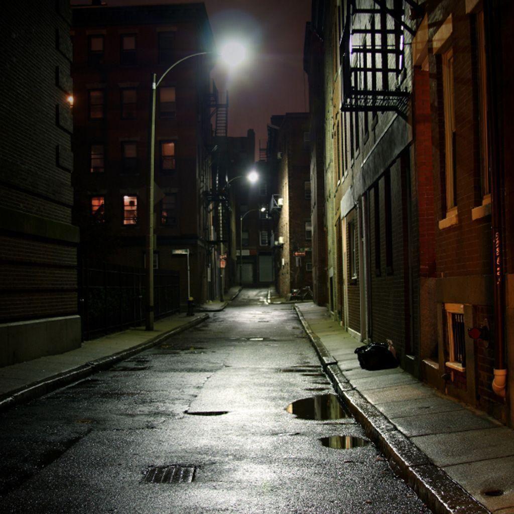 Dark City Street Background Best Background Images Hd