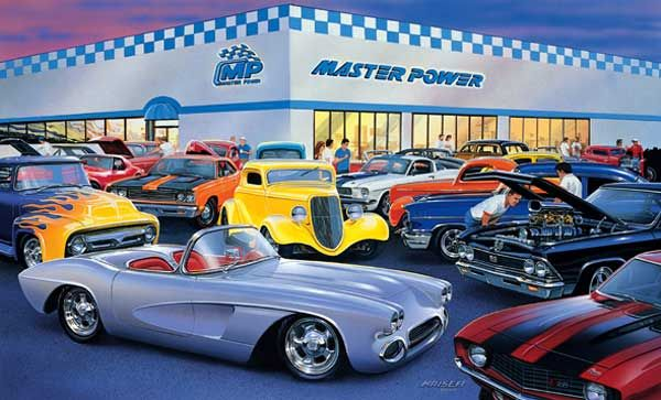 Master Power Car Show Car Art Pinterest Power Cars Cars And