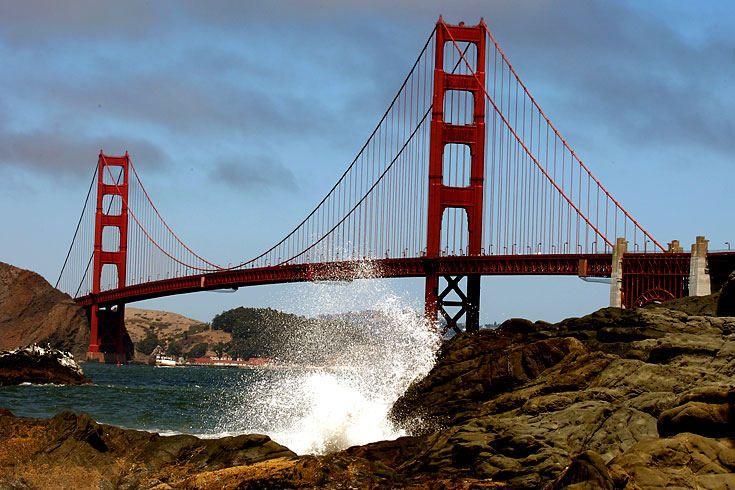 Golden Gate Bridge: Brückenschlag zwischen Himmel und Erde