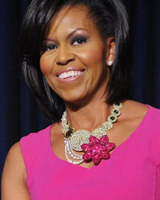 Michelle Obama Eyebrows : michelle, obama, eyebrows, Pink!, Michelle, Obama, Fashion,, Obama,, Michele