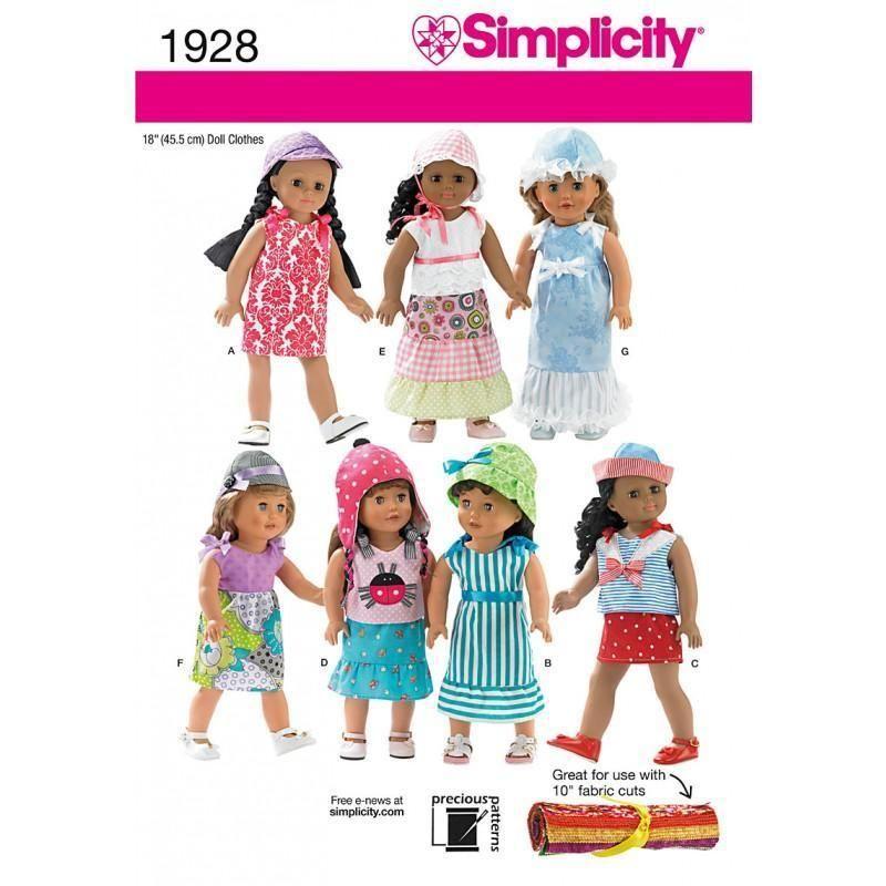 Fein Kostenlose Muster Für Die 18 Zoll Puppe Kleidung Zu Nähen Ideen ...