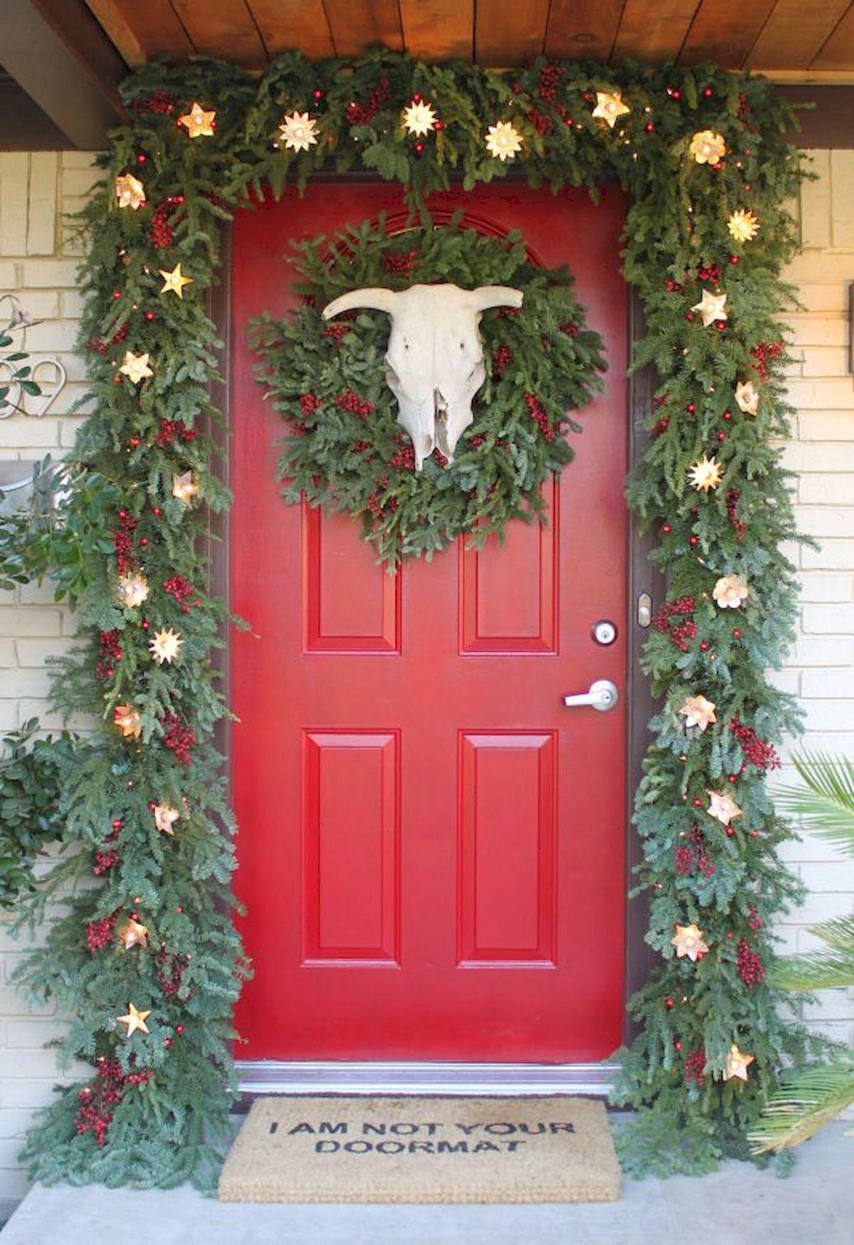 Beautiful Christmas Door Decoration Ideas | Christmas ...