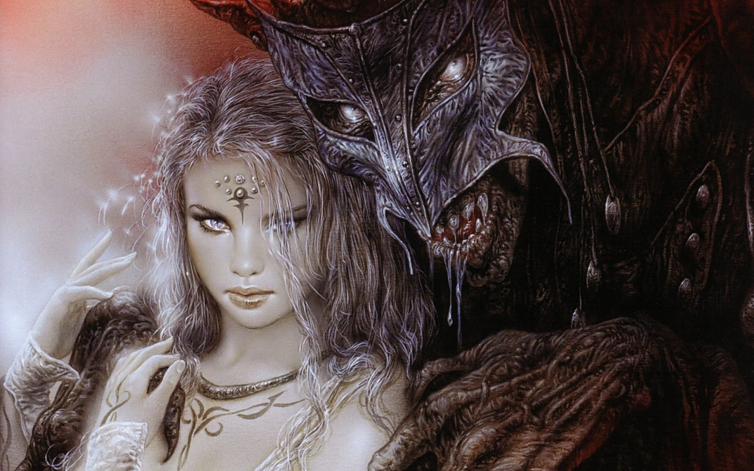 Luis Royo  -  Beauty and the Beast