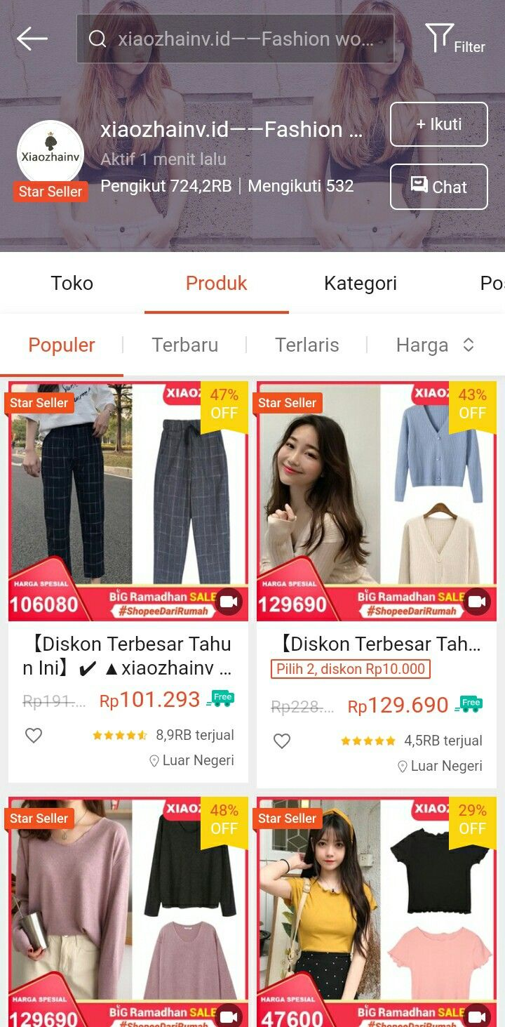 Aplikasi Olshop China
