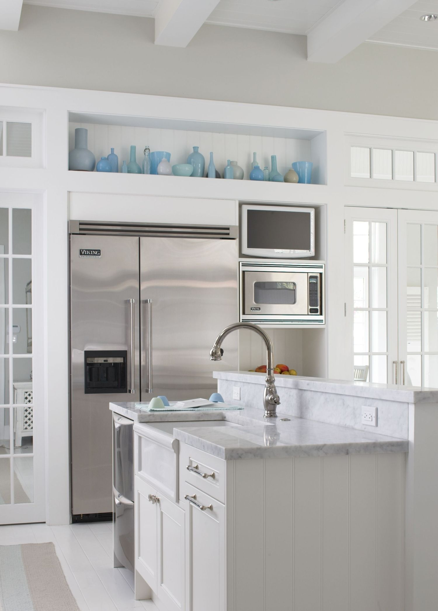 My Dream Kitchen Countertops : This is my dream kitchen the grey and white countertops