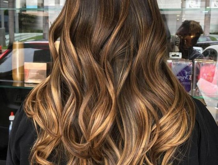 1001 variantes du balayage caramel pour sublimer votre coiffure couleur pinterest. Black Bedroom Furniture Sets. Home Design Ideas