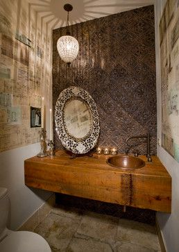 Houzz - Home Design, Decorating and Remodeling Ideas and Inspiration on houzz dining room, beach powder bathroom, wallpaper powder bathroom,