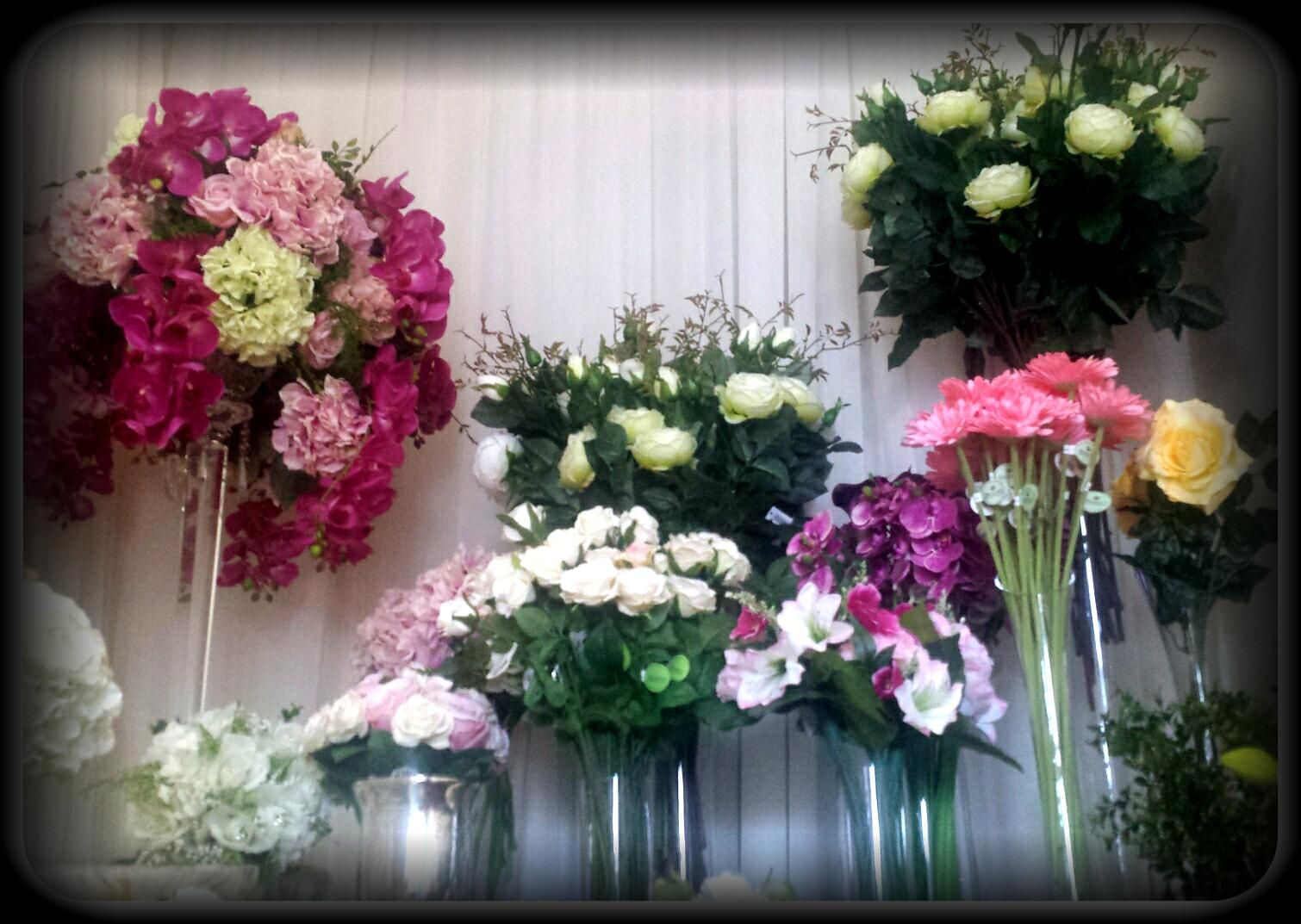 In House Flower Designs Save Money By Renting Good Quality Silk