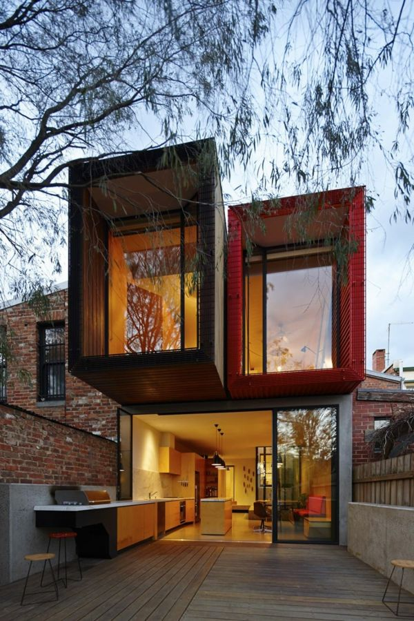 Modernes japanisches einfamilienhaus nachhaltige for Einfamilienhaus architektur modern