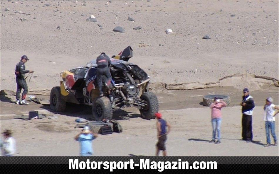 Dakar 2016, Sébastien Loeb, Peugeot, Bild: ASO/DPPI